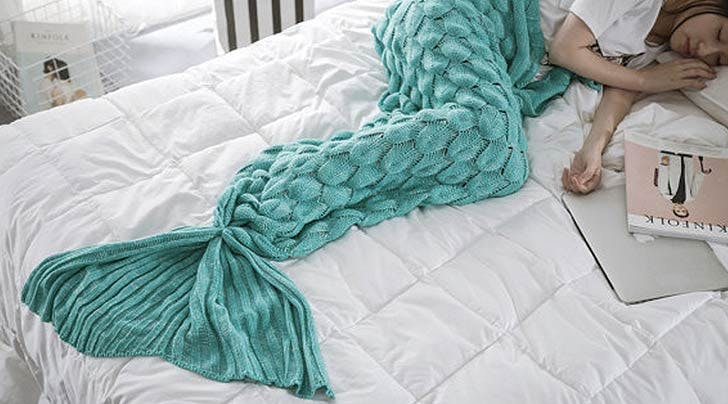 Mermaid Blankets Are the New Snuggies