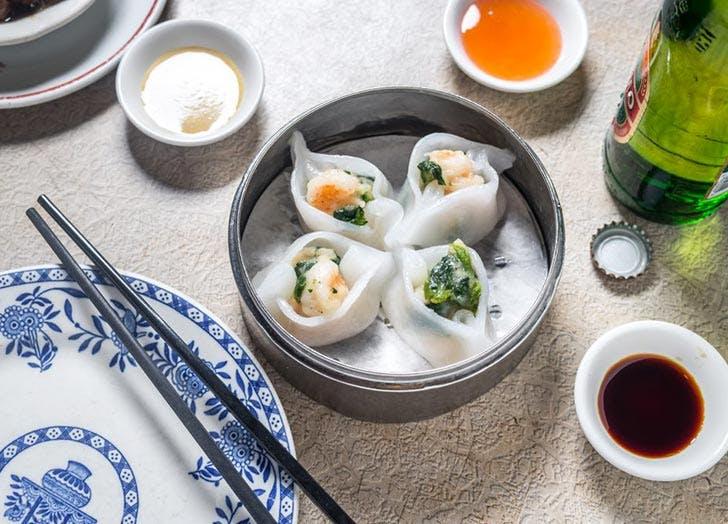 nom wah tea parlor shrimp dumplings NY 728