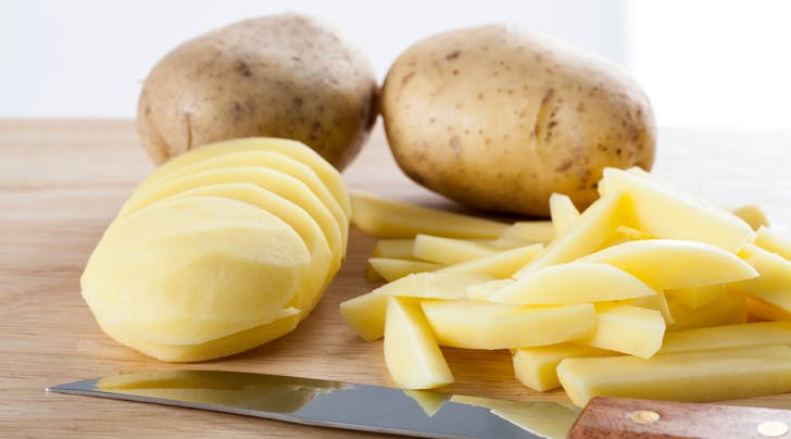 Stop Ruining Your Hands and Your Manicure and Your Life Peeling Potatoes