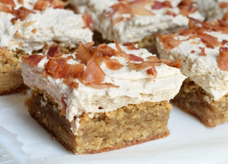 salty baconblondies