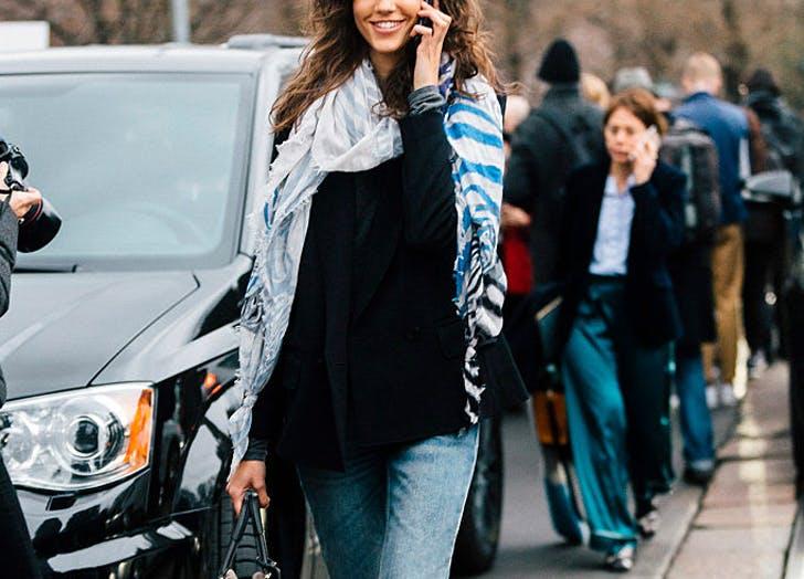 scarf gauzy