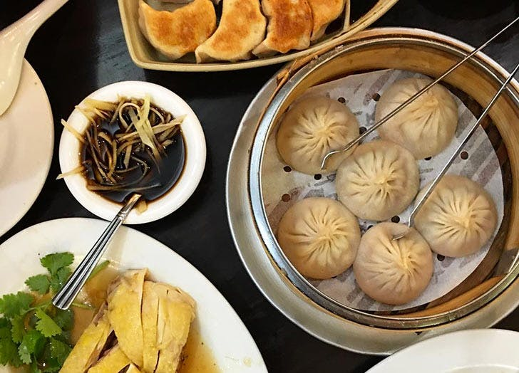 shanghai cuisine 33 black truffle dumplings NY 728