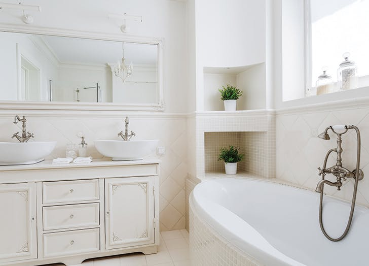 How To Make A Small Bathroom Seem Larger Purewow