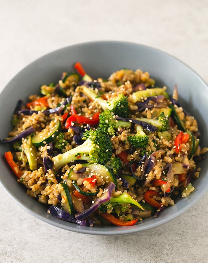 stirfry brownrice