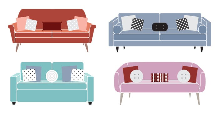 The 2:2:1 Throw Pillow Rule Will Change the Way You Style Your Couch