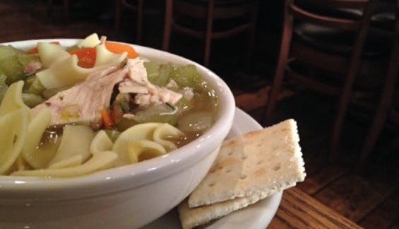 Greenblatt s chicken noodle soup