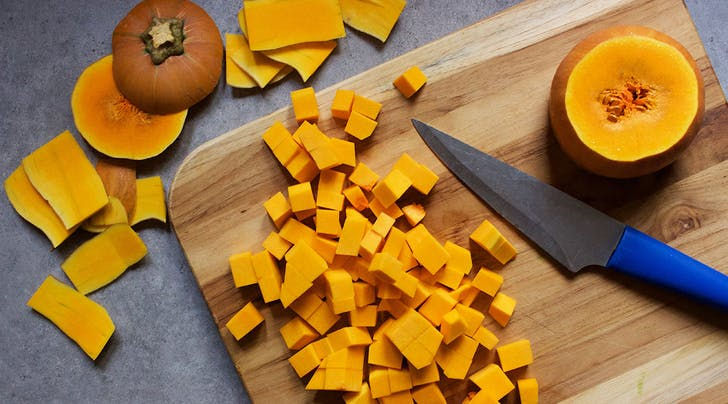 This Super-Simple Way to Peel Butternut Squash Is a Game Changer