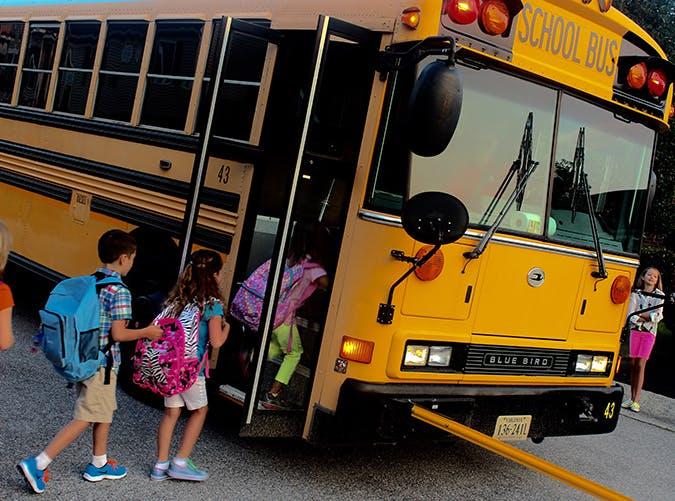 childcare gifts schoolbus kids