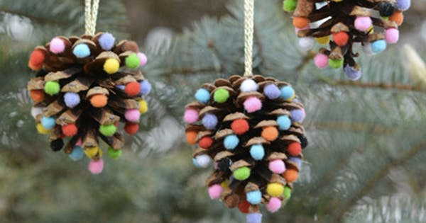 Pretty Christmas Decor You Can Make Yourself