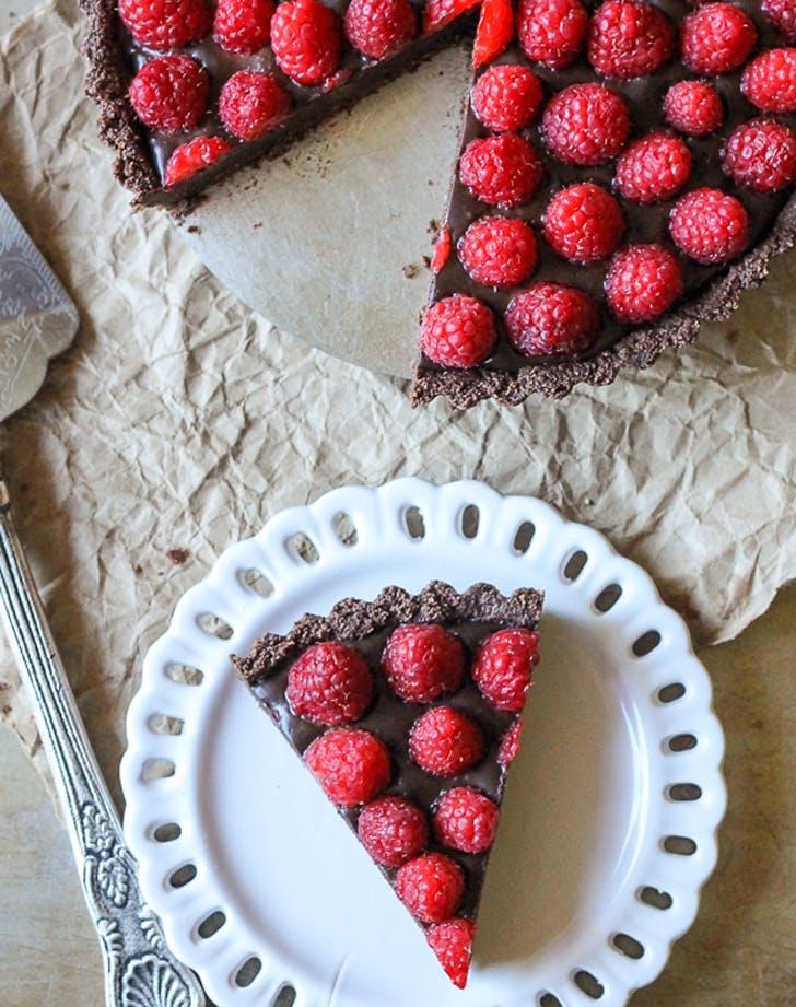 dairyfree raspberrytart