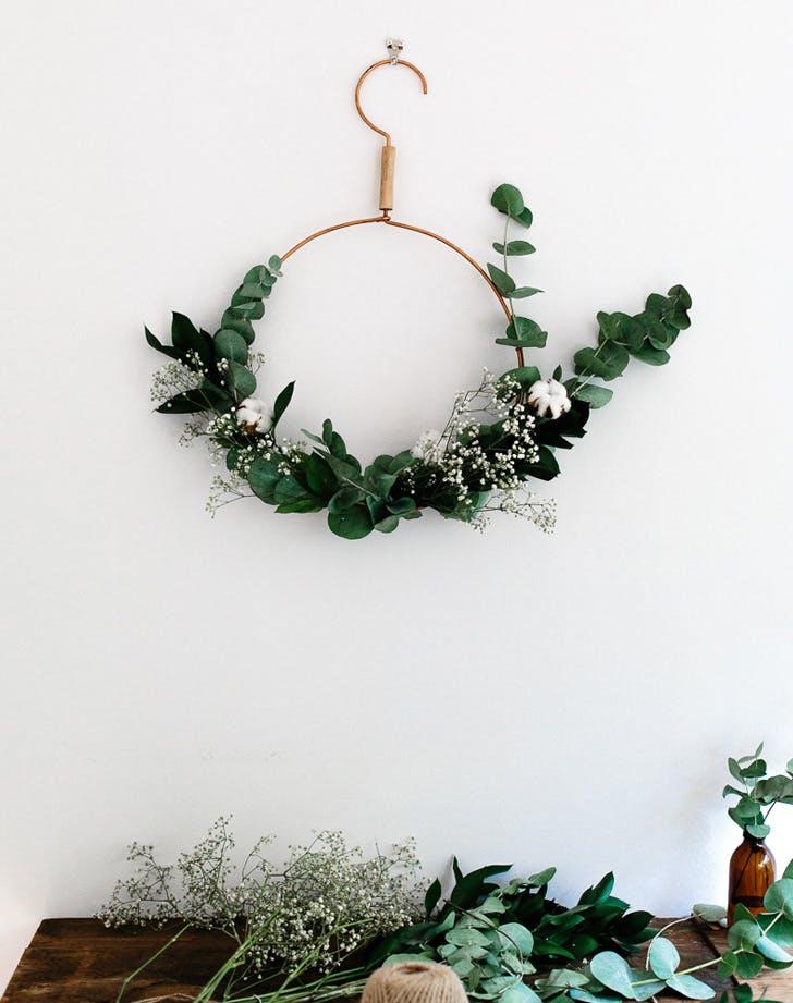 deconstructed wreath