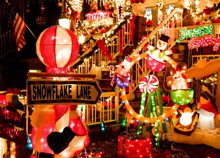 dyker heights christmas lights NY 728