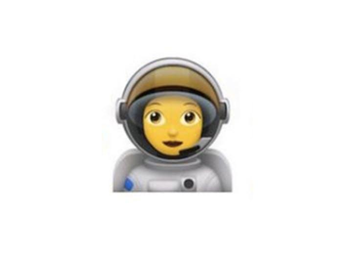 emoji astronaut