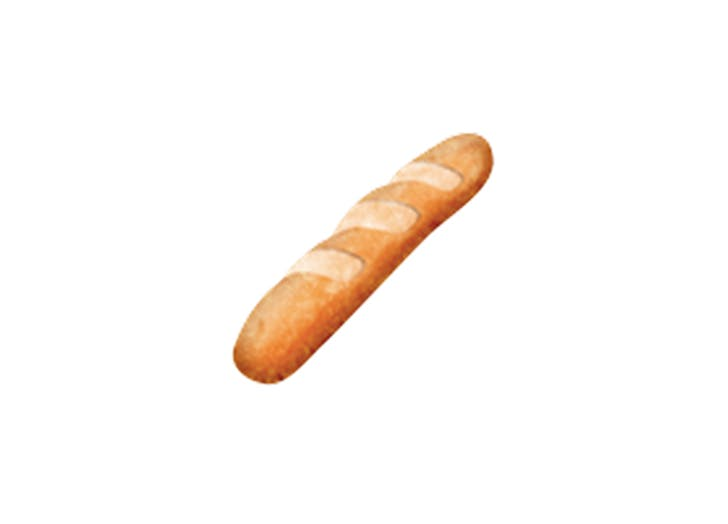 emoji baguette