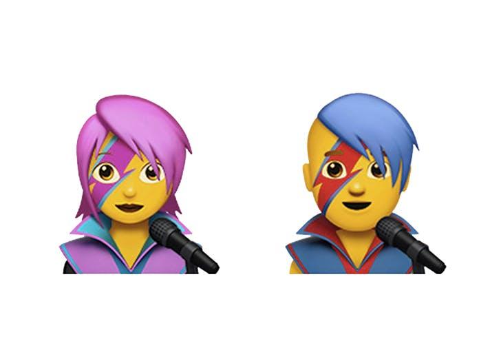 emoji bowie
