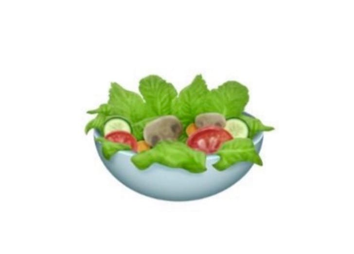 emojis salad