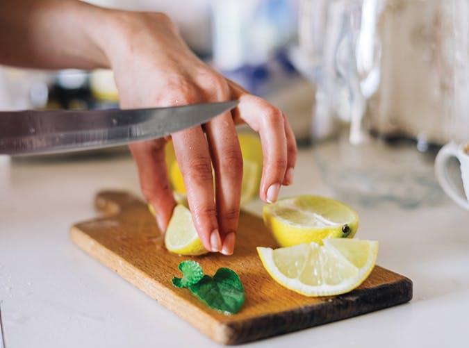 filling foods lemons