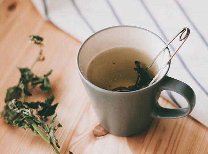 filling foods tea