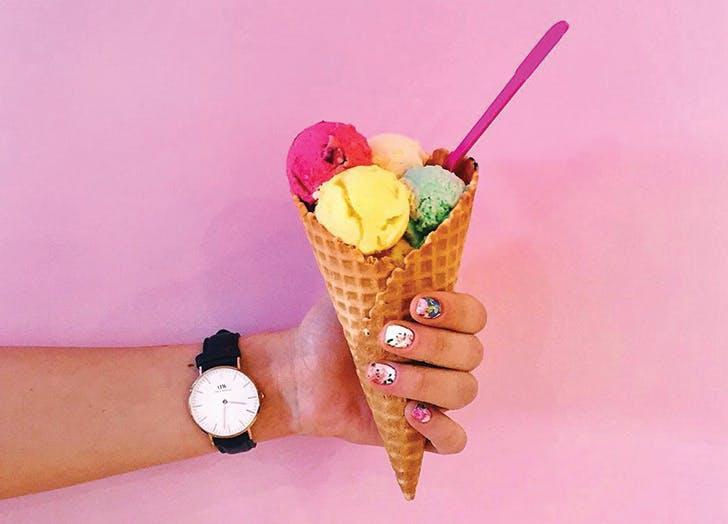 foodie posts icecream