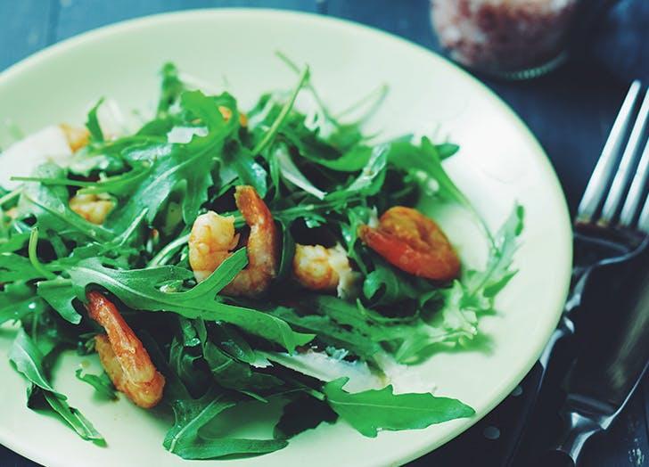 foodie posts salad