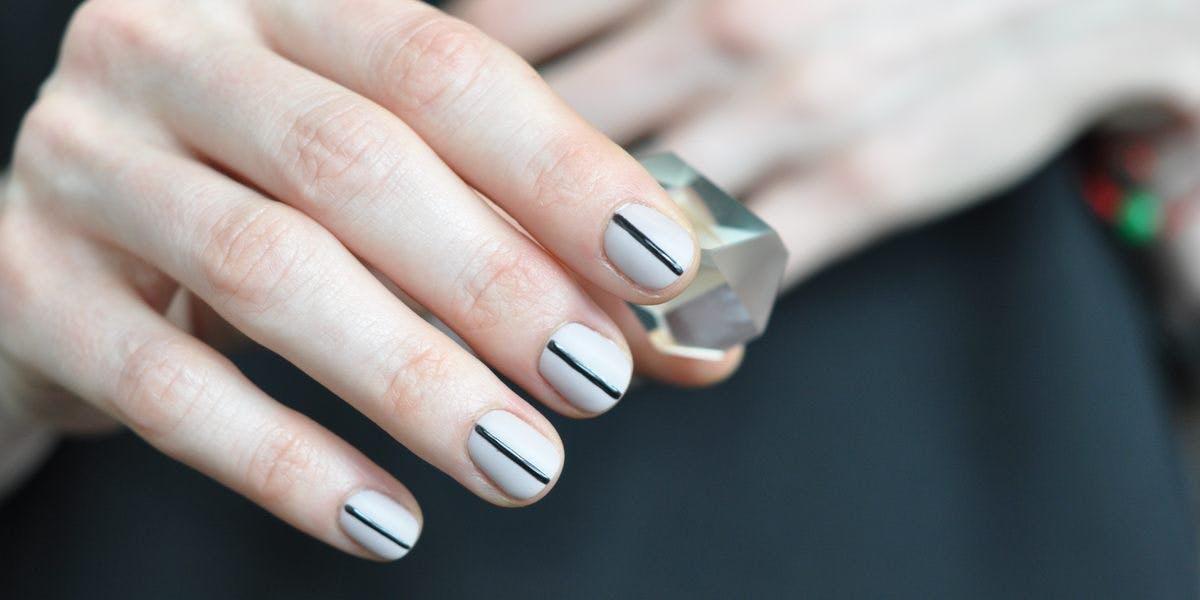 geometric nails CHI