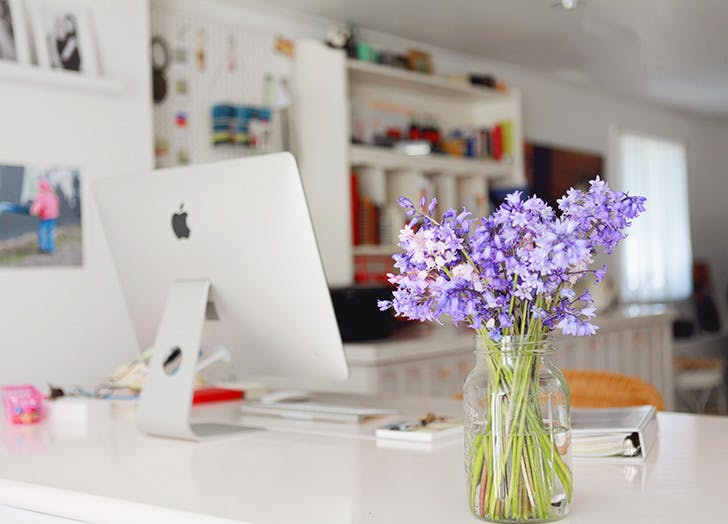 work from home office. A Dedicated Desk Work From Home Office I