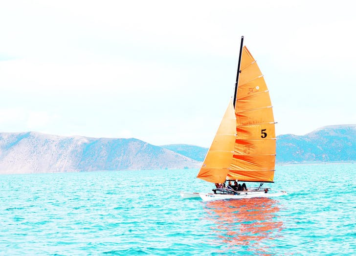 instagram sailboat bright