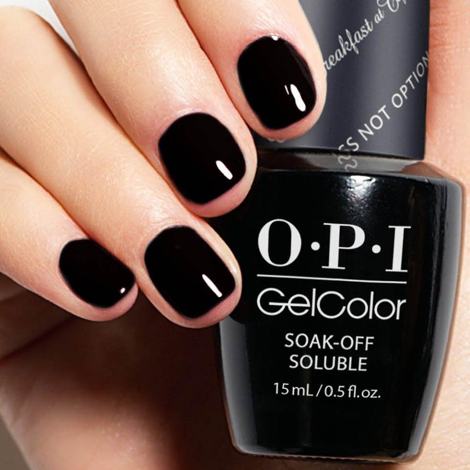 jet black nails CHI