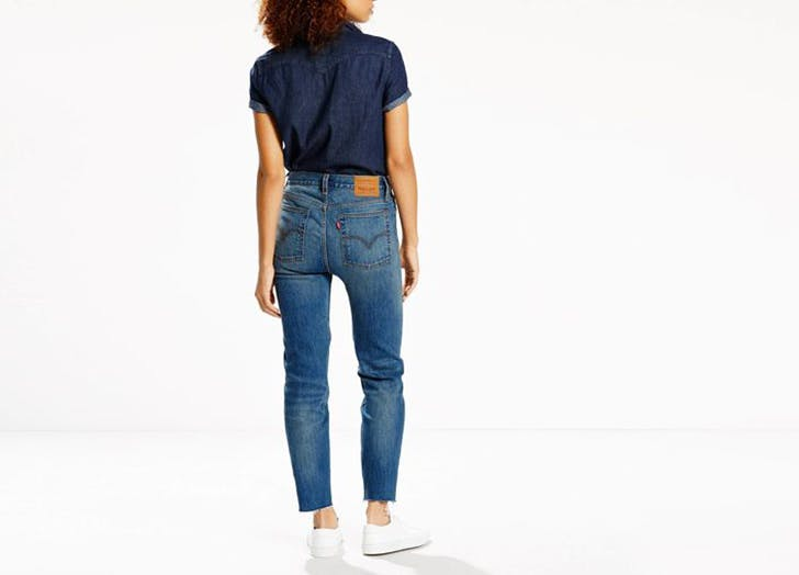 levis wedgie jeans NY 728