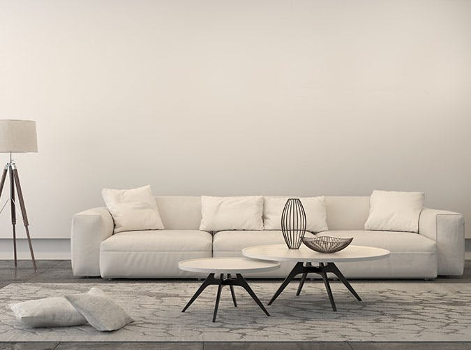 living room mistakes all white