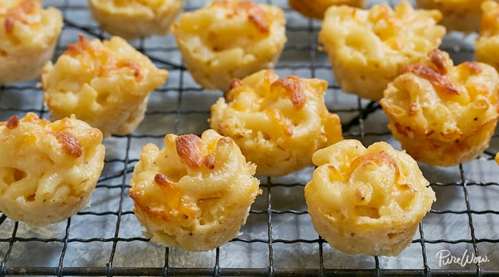 Baked mac and cheese bites recipe purewow baked mac and cheese bites forumfinder Choice Image