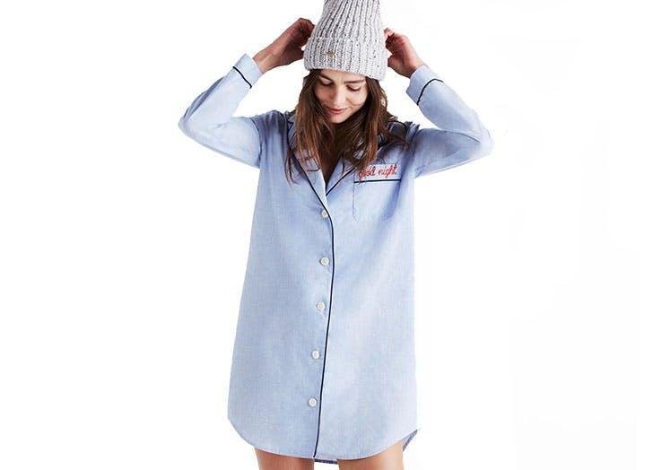 madewell nightshirt