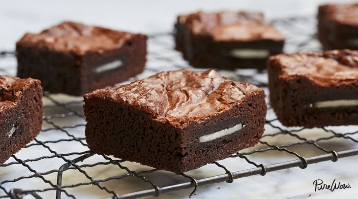 Oreo-Stuffed Brownies