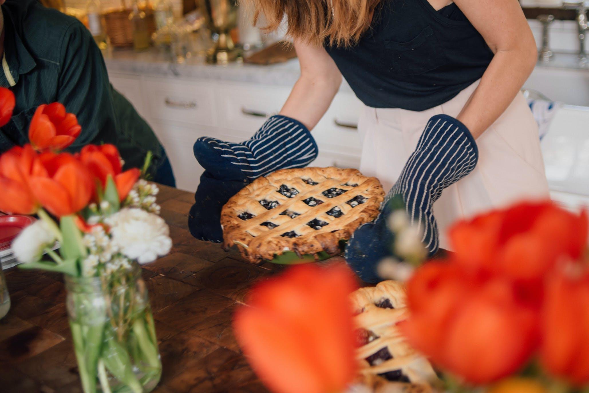 pie crust browning SF