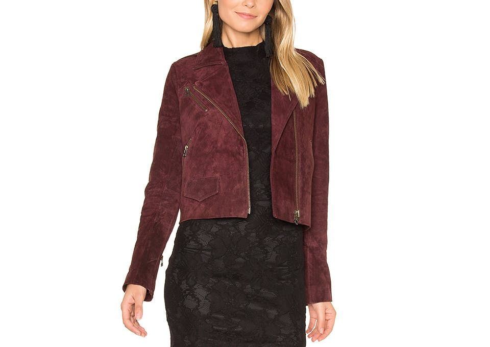 revolve capulet suede wine moto dallas winter jackets