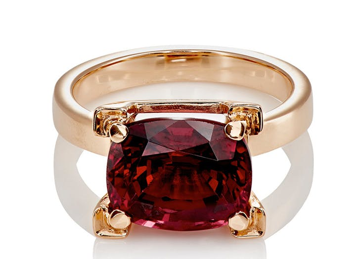 rings garnet