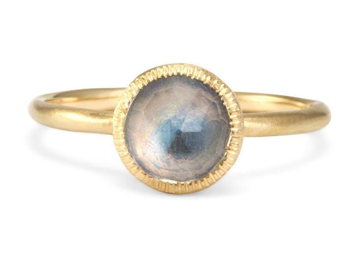 rings moonstone