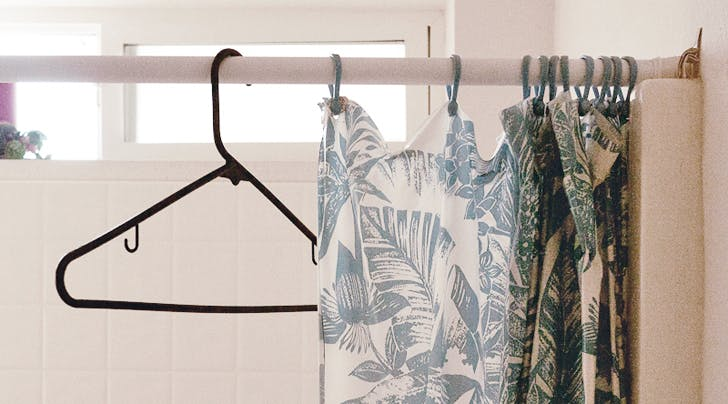 A Clever Way to Store Coats When You Dont Have a Coat Closet