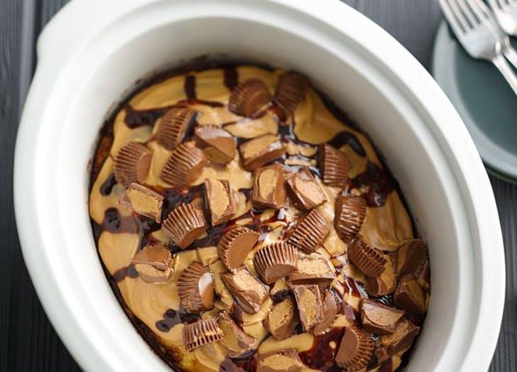 slowcooker reesescake