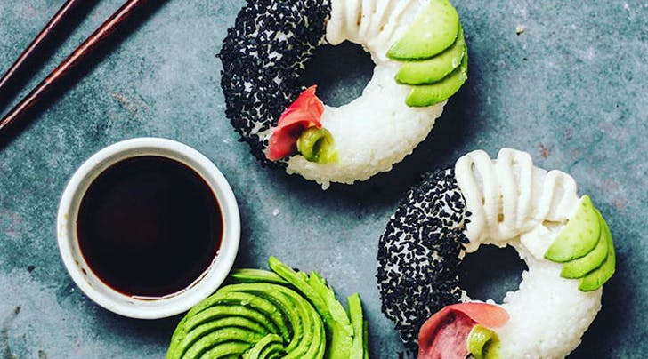 Sushi Doughnuts Are the Food Craze of Our Dreams
