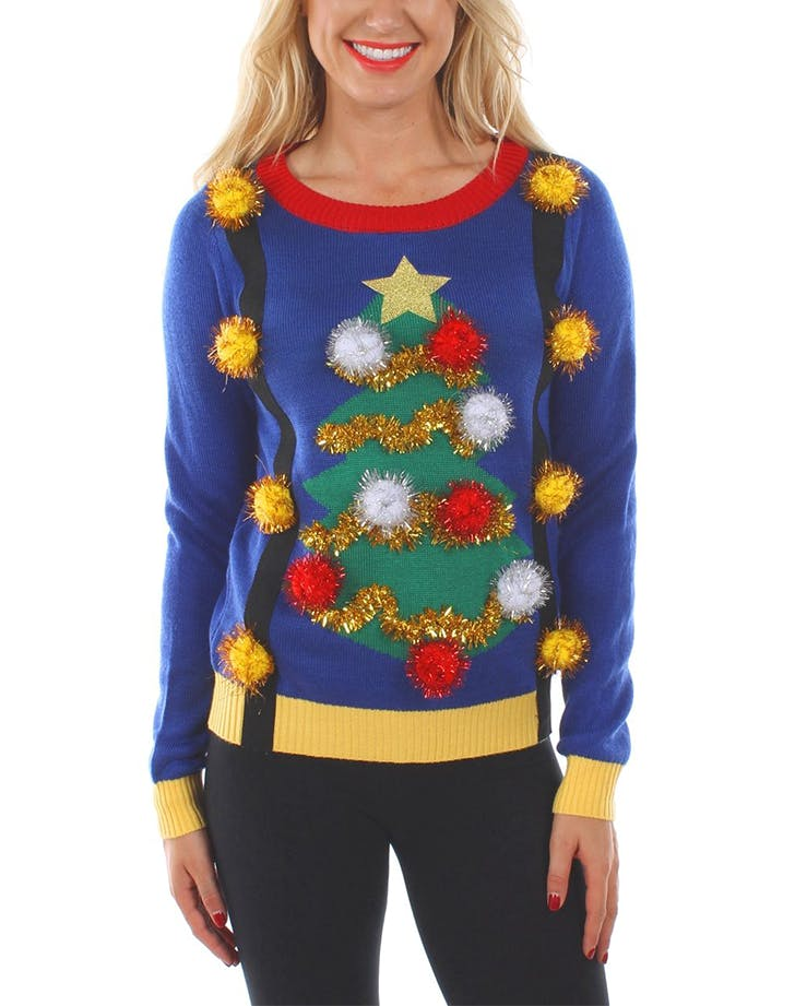 tipsy eleves ugly christmas sweater