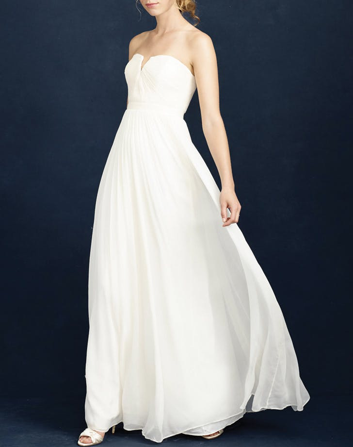 wedding dress jcrew