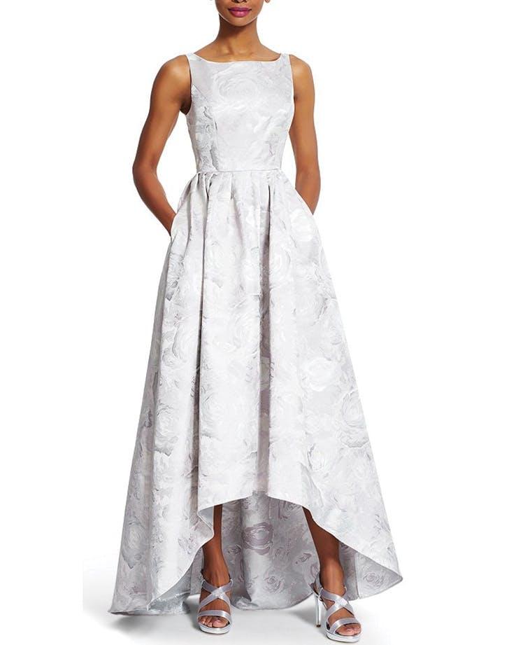 weddingdress tea length adriana pappell