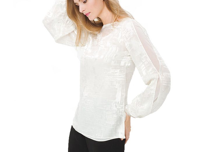 white house black market blouse