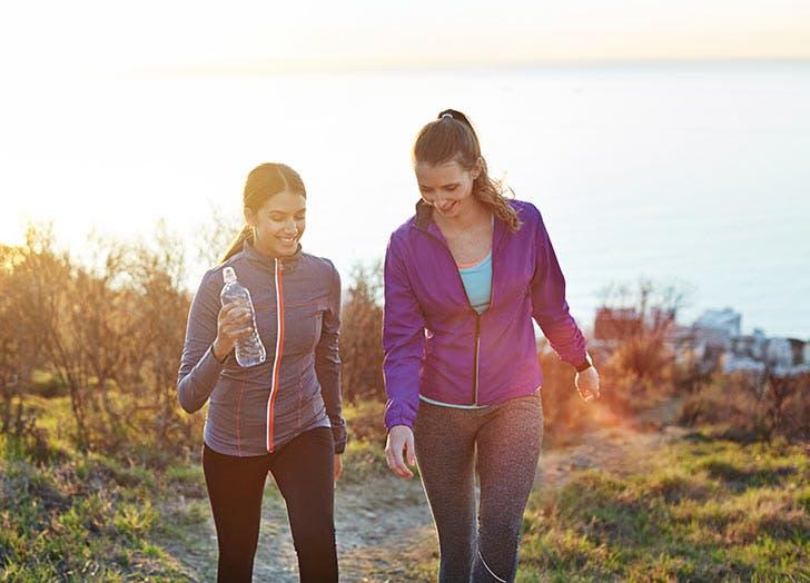 workout rut walking friends