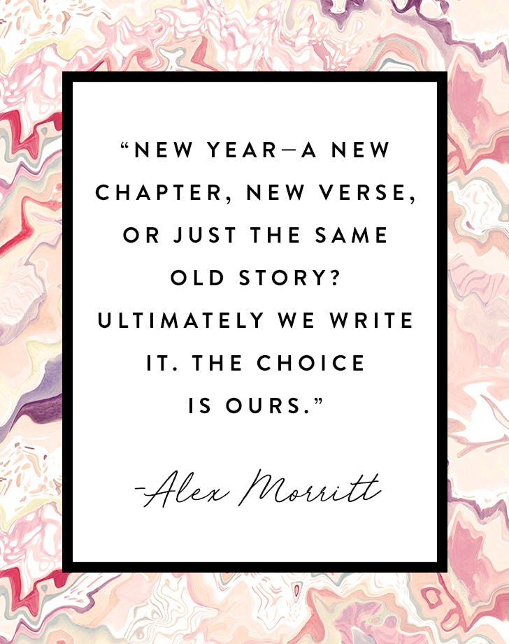 40 New Year's Quotes For 40 PureWow Interesting Picture Quotes For New Year