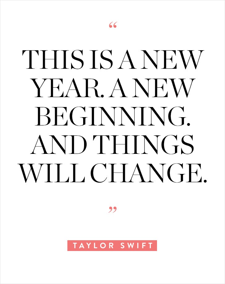 10 New Year\'s Quotes for 2018 - PureWow