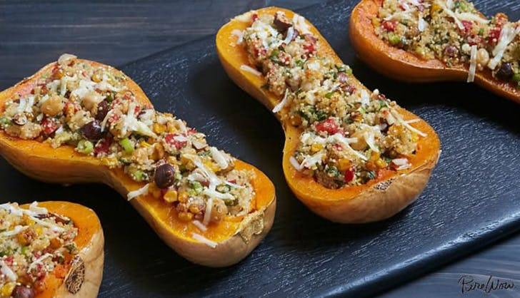 STUFFED BUTTERNUT