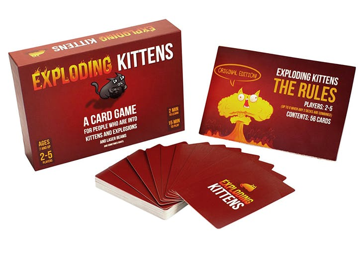 amazon gifts exploding kittens