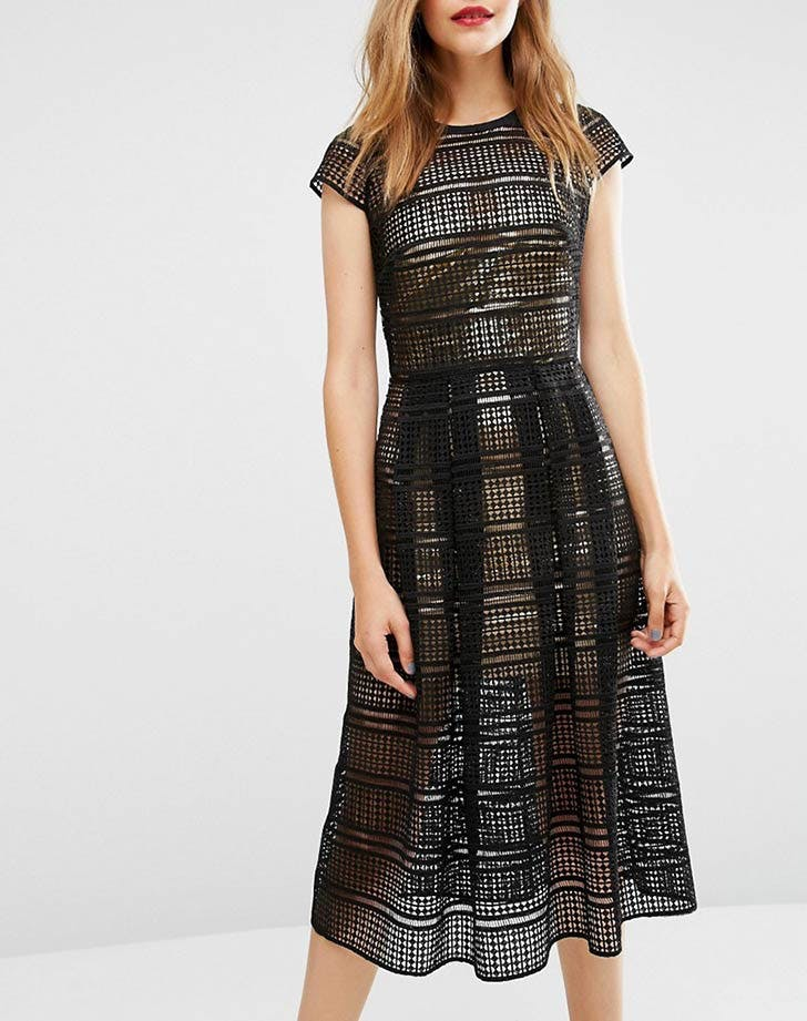 asos lace dress nye